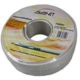 """Avanit Koaxialkabel Ring 100m, 120dB wei�von """"Avanit"""""""