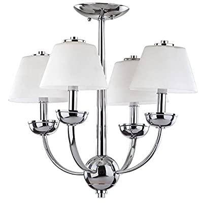 Safavieh Lighting Collection Yardley Chrome 18.9-inch Chandelier
