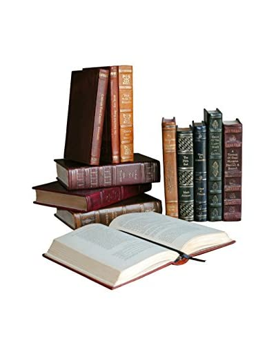 Assorted Set of 12 Rebound Leather Books