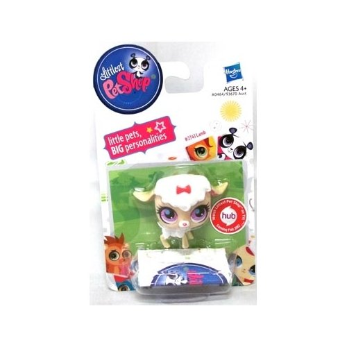Littlest Pet Shop Singles Lamb Figure