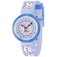 [フリック フラック]FLIK FLAK キッズ腕時計 CUTE-SIZE(キュート サイズ) CUTY CATS IN BLUE(キューティー・キャッツ・イン・ブルー) ZFBNP013 ガールズ 【正規輸入品】