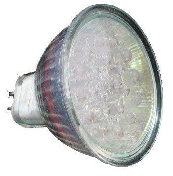 Led Light Bulb, Mr16 18Led 12V Green