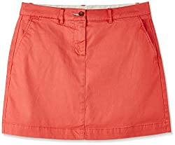 Gant Women's Pencil Skirt (GWRHF0001_Coral_34)