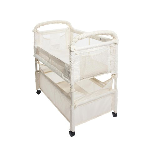 Best Buy! Arms Reach Concepts Inc. Co-Sleeper Mini Clear-Vue - Natural