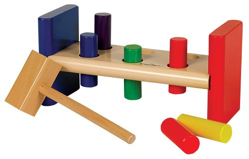 Small World Toys Ryan's Room Wooden Toys  -Pounding Bench