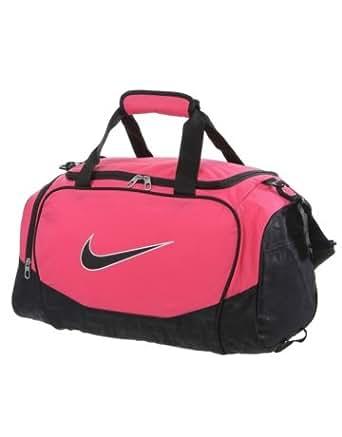 Nike Brasilia 5 Small Duffel Gym Bag Spark/Black Size Small