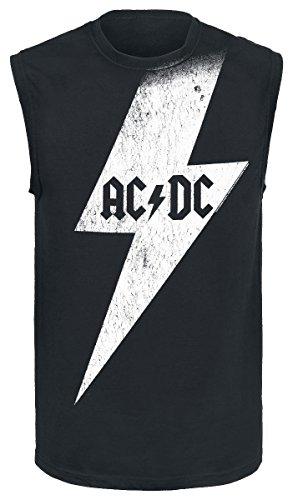 AC/DC Big Bolt Canottiera nero XL