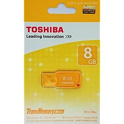 Toshiba TransMemory Mini Micawa 8GB Pendrive (Yellow)