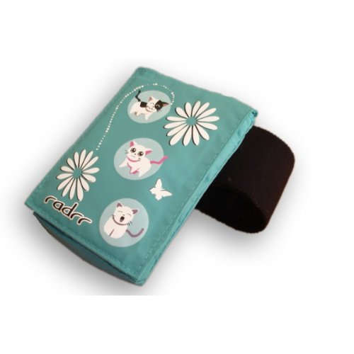 Insulin Pump Case With Velstretch Belt - Kawaii Kittens