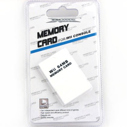 Nintendo Wii 64 MB Memory Card
