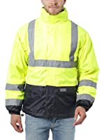 Ultrasport Chaqueta de seguridad con elementos reflectantes 3 in 1 Fleece Vest (Amarillo)