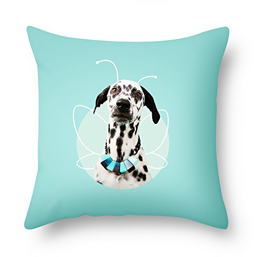 Beautfuldecor Home Decoration Dog Want To Fly Pillowcase 20X20 InchThrow Cushion Cover
