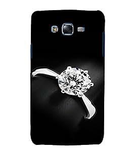 EPICCASE Diamond Ring Mobile Back Case Cover For Samsung Galaxy J7 (Designer Case)