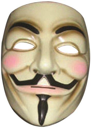 V for Vendetta Mask ヴェンデッタマスクのためのV♪ハロウィン♪サイズ:One Size