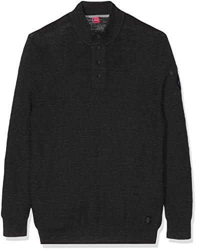 s.Oliver Pullover Langarm, Felpa Uomo, Grau (black 9898, Grau), Xxxxx-large (taglia Produttore: Xxxxx-large)