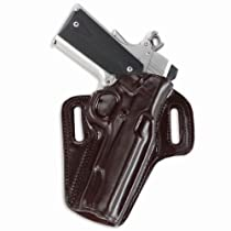 Galco Concealable Belt Holster for 1911 5-Inch Colt, Kimber, Para, Springfield (Havana, Right-hand)