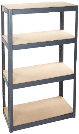 edsal vr400 steel storage rack 36 w x 60 h x. Black Bedroom Furniture Sets. Home Design Ideas