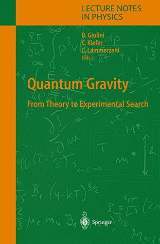 Quantum Gravity: From Theory to Experimental Search (Lecture Notes in Physics) (Tapa Dura)