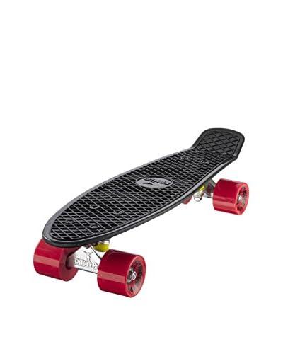 Ridge Skateboards Skateboard Original 22 Mini Cruiser Nero/Rosso