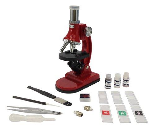 Microscope Starter Kit - 900X 300X 75X - Optics - Built In Light