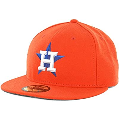 Houston ASTROS 2015 ALTERNATE New Era 59FIFTY Fitted Caps MLB On Field Hats