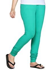 Clifton Women Stretch Cotton Legging - Stump Green