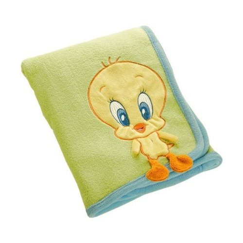 Baby Looney Tunes Nature Fantasy Tweety Blanket Buddie - 1