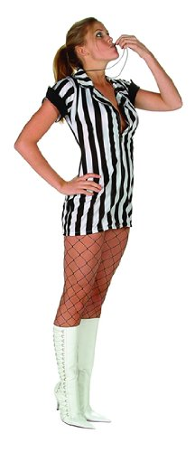 Adult Plus Size Sexy Referee Costume Size (16-18)