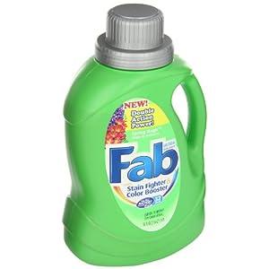 Fab 37060 50 Oz. Spring Magic 2X HE Liquid Laundry Detergent (Case of
