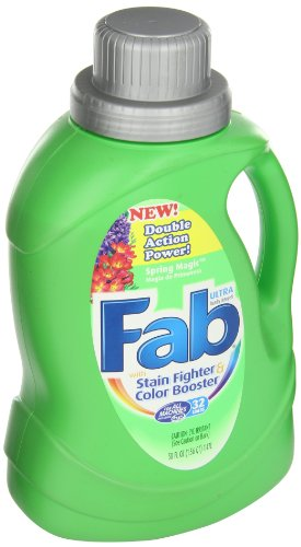 Fab 37060 50 Oz. Spring Magic 2X HE Liquid Laundry Detergent