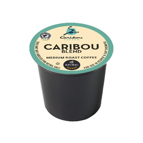 Caribou Coffee Caribou Blend, K-Cups for Keurig Brewers ...