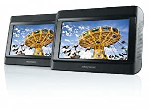 Nextbase Click & Go Click 9 Lite Duo Twin Screen Portable DVD Player with Car Safe Stanchion Mounting System