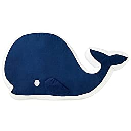 Nautica Kids® Mix & Match Whale Throw Pillow in Navy