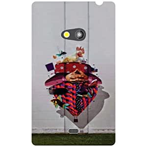 Printland Awesome Phone Cover For Nokia Lumia 625