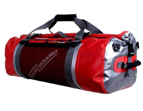 Overboard Pro-Sports Waterproof Duffel Bag - Red, 60 Litres by Overboard