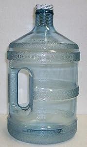 1 Gallon Plastic Water Bottle W/Handle