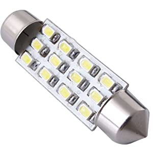 Buying guide of sodial r white dome 12 smd led car for Led bulb buying guide