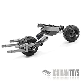 Batpod V3 - Custom LEGO Element Kit