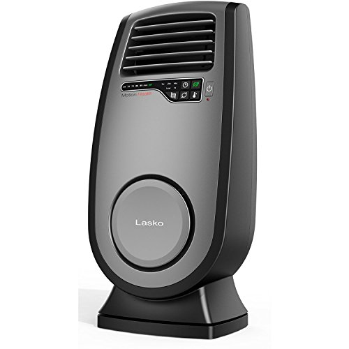 Lasko Ceramic Room Heater with 3D Motion Heat Technology, Electronic Touch-Control Operation, Adjustable Thermostat with 2 Comfort Settings, Built-In Safety Features, & Energy Efficient Timer, Remote Control Included (Remote Controlled Space Heater compare prices)