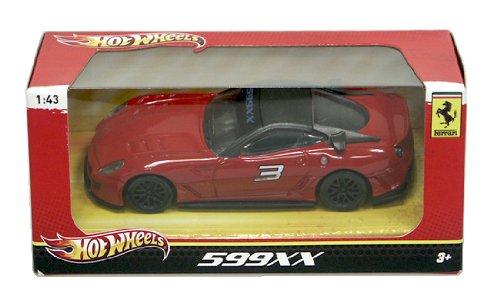 Hot Wheels Ferrari 1:43 599XX Die-Cast Car Vehicle X5536