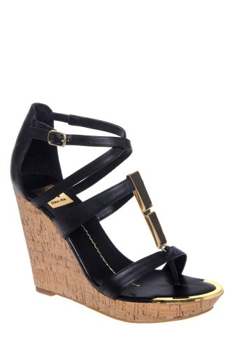 DV by Dolce Vita Tabby High Wedge Strappy Sandal