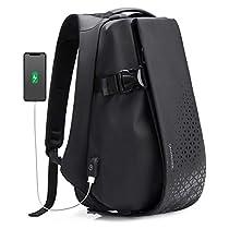 【タイムセール】大容量 防水 15.6インチPC対応ビジネスリュック USB充電ポート付き多機能バックパック 男女兼用 StarCock 4,674円