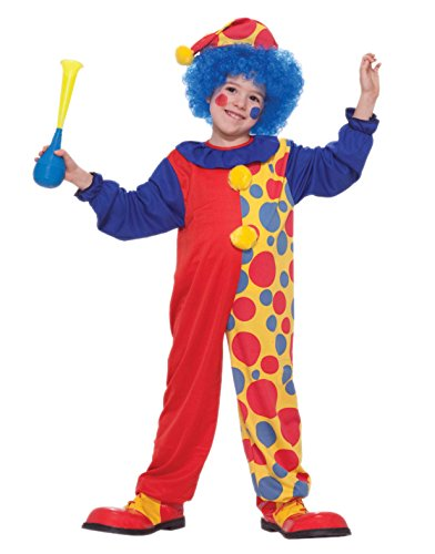 Forum Novelties Rainbow Clown Costume