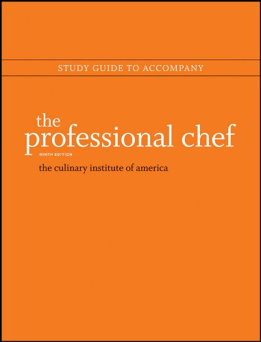 Study Guide to accompany The Professional Chef, 9e (Cia Professional Chef compare prices)
