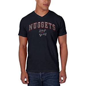 NBA Denver Nuggets JV Scrum Tee, Fall Navy by