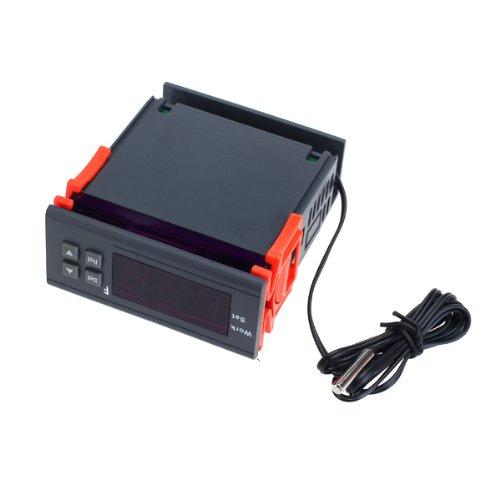 Digital Temperature Controller Wh7016H -58 ~ 230 ℉ Ac 110V Ntc (10K / 3435)