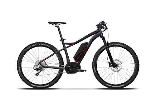 E-Mountainbike Flyer Goroc 8.7 saphirschwarz, Flyer Rahmengrößen Mountain:l Körpergröße 175 - 185 cm