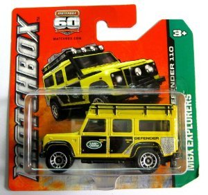 Matchbox Cars - Land Rover Defender 110 - Scale 1:62: Amazon.co.uk: Toys & Games