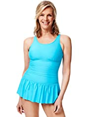 Post Surgery Ruched Skirt Swimsuit