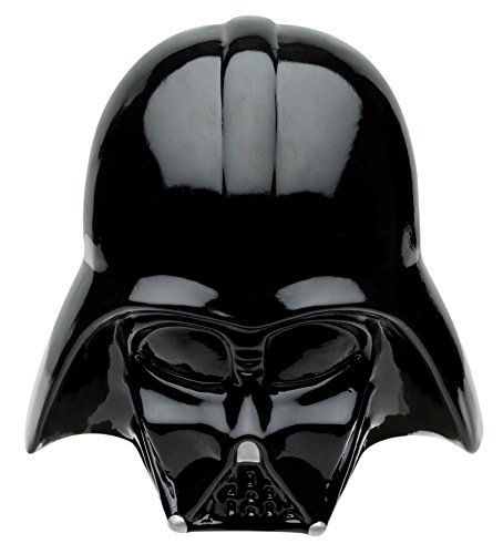 Zak! Designs Coin Bank, Classic Star Wars Darth Vader, Save Money in this Sculpted Ceramic Star Wars Collectible Bank